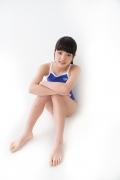 Hinako Tamaki swimming swimsuit gravure image Speedo Blue033
