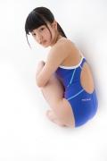 Hinako Tamaki swimming swimsuit gravure image Speedo Blue035