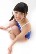 Hinako Tamaki swimming swimsuit gravure image Speedo Blue037