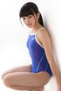 Hinako Tamaki swimming swimsuit gravure image Speedo Blue039