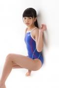 Hinako Tamaki swimming swimsuit gravure image Speedo Blue040