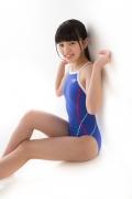 Hinako Tamaki swimming swimsuit gravure image Speedo Blue041