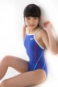 Hinako Tamaki swimming swimsuit gravure image Speedo Blue042