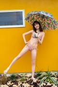 Facilitator Manaka Ozaki bikini gravure Glued to a too cute smile033