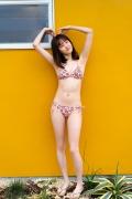 Facilitator Manaka Ozaki bikini gravure Glued to a too cute smile034