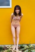 Facilitator Manaka Ozaki bikini gravure Glued to a too cute smile036