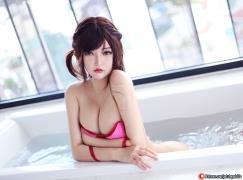 Cosplay swimsuit bikini gravure girlfriend borrowed Chizuru Ichinose021
