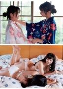 Yuno Ohara Yusa Komiya Hiyori sisters sexy hot spring bathing shots007