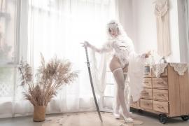 Costume Play 2B NIER:AUTOMATA Jorja II Type B Nier Automata White001