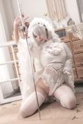 Costume Play 2B NIER:AUTOMATA Jorja II Type B Nier Automata White008