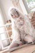Costume Play 2B NIER:AUTOMATA Jorja II Type B Nier Automata White011