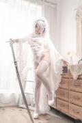 Costume Play 2B NIER:AUTOMATA Jorja II Type B Nier Automata White016