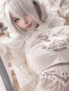 Costume Play 2B NIER:AUTOMATA Jorja II Type B Nier Automata White021
