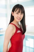 Kashiwagi Sarina red bathing suit picture pool 2020013 (1)