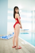 Kashiwagi Sarina red bathing suit picture pool 2020008