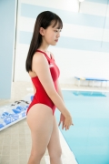 Kashiwagi Sarina red bathing suit picture pool 2020017