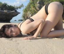 Kazusa Okuyama Swimsuit Bikini Gravure Best Body Vol12020024