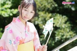 Riri Hoshino swimsuit gravure yukata flower pattern bikini010