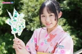 Riri Hoshino swimsuit gravure yukata flower pattern bikini012