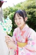 Riri Hoshino swimsuit gravure yukata flower pattern bikini014