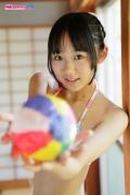 Riri Hoshino swimsuit gravure yukata flower pattern bikini024