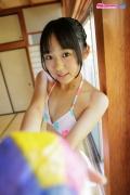 Riri Hoshino swimsuit gravure yukata flower pattern bikini025