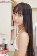 Riri Hoshino School Infirmary White Bikini001