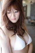 Id like to have a Gravure swimsuit image of Mai Hakase If you are a man you must have breasts like this at least once054