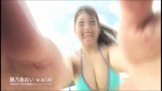 Aoi Fujino swimsuit bikini gravure 100cm cup rising star fr9om Hokuriku 2020043