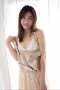 Ayaka Eto White Swimsuit Images Slender White Bikini 2020013