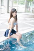 JuiceJuice Aika Inaba swimsuit shots around her hometown OtaruHokkaido011