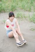 JuiceJuice Aika Inaba swimsuit shots around her hometown OtaruHokkaido013