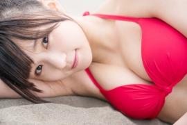 JuiceJuice Aika Inaba swimsuit shots around her hometown OtaruHokkaido027