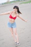 JuiceJuice Aika Inaba swimsuit shots around her hometown OtaruHokkaido029