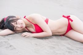 JuiceJuice Aika Inaba swimsuit shots around her hometown OtaruHokkaido039