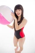 Hinako Tamaki Swimming Race Swimsuit Images NSA Beach Ball004