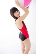 Hinako Tamaki Swimming Race Swimsuit Images NSA Beach Ball006