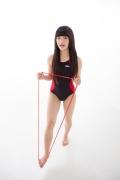 Hinako Tamaki Swimming Race Swimsuit Images NSA Beach Ball014
