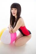Hinako Tamaki Swimming Race Swimsuit Images NSA Beach Ball011