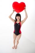 Hinako Tamaki Swimming Race Swimsuit Images NSA Beach Ball024