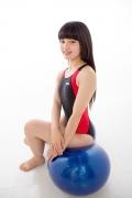 Hinako Tamaki Swimming Race Swimsuit Images NSA Beach Ball026