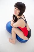 Hinako Tamaki Swimming Race Swimsuit Images NSA Beach Ball031
