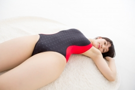 Hinako Tamaki Swimming Race Swimsuit Images NSA Beach Ball041