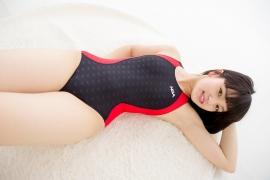 Hinako Tamaki Swimming Race Swimsuit Images NSA Beach Ball040
