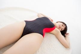 Hinako Tamaki Swimming Race Swimsuit Images NSA Beach Ball042