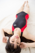 Hinako Tamaki Swimming Race Swimsuit Images NSA Beach Ball047