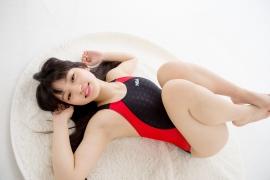 Hinako Tamaki Swimming Race Swimsuit Images NSA Beach Ball051
