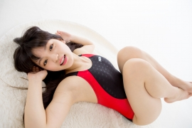 Hinako Tamaki Swimming Race Swimsuit Images NSA Beach Ball052
