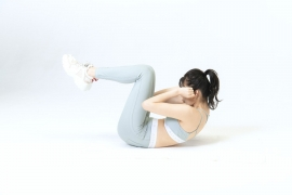 Yuka Ogura muscle gymnastics training wear fitness wear for women003