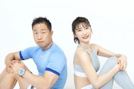 Yuka Ogura muscle gymnastics training wear fitness wear for women005